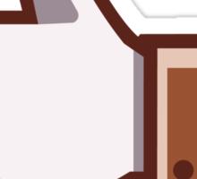 ceci n'est pas un like - magritte Sticker