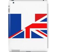 uk france flag iPad Case/Skin