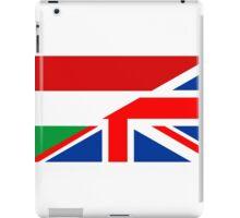 uk hungary flag iPad Case/Skin