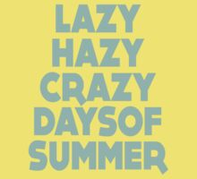 Lazy Hazy Summer Kids Clothes