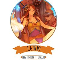 League Of Legends - Leona by TheDrawingDuo
