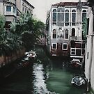 Venice Painting by Johdie Fairweather