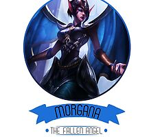 League Of Legends - Morgana by TheDrawingDuo