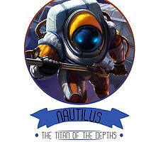 League Of Legends - Nautilus by TheDrawingDuo