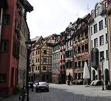 Nuernberg Street Scene by bertspix