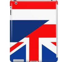 thailand uk flag iPad Case/Skin