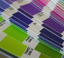 Pantone Swatch Booklet by xkonstantine