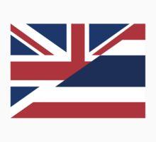 thailand uk flag Kids Clothes