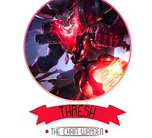 League Of Legends - Thresh by TheDrawingDuo
