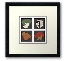 Cowboy Bebop - Partners Framed Print