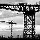 Cranes. Barrow-in-Furness  by John Callaway