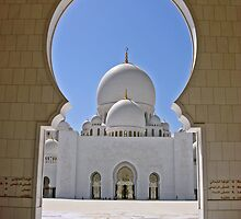 Sheikh Zayed Mosque Abu Dhabi by David Clark