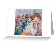 Commission Florist (No. 2) Greeting Card