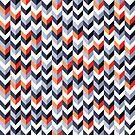 Chevron Wallpaper by Mike Taylor