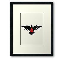 Blood Ravens - Sigil - Warhammer Framed Print