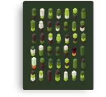 Robotz - Forest Canvas Print