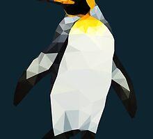 Polygon King Penguin by sandracbt