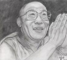 His Holiness the 14th Dalai Lama by ColeC