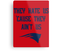 Patriots - They Hate Us 'Cause They Ain't Us Metal Print