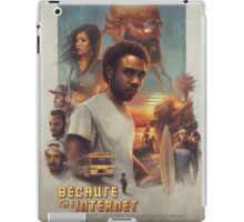 Because the Internet Poster Childish Gambino iPad Case/Skin