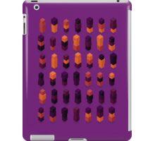Robotz - Gold & Purple iPad Case/Skin