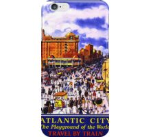 Atlantic City, Playground of the World iPhone Case/Skin