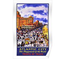 Atlantic City, Playground of the World Poster