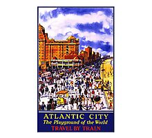 Atlantic City, Playground of the World Photographic Print