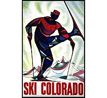 Ski Colorado Photographic Print