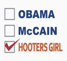 Support the Hooters Girl Party by mobii