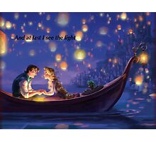 Disneys Tangled Photographic Print