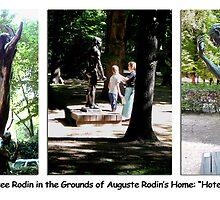 Paris Series 05 Musee Rodin Statue Garden by Keith Richardson