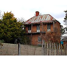 Luxury Living From The Past in Sofala NSW Photographic Print