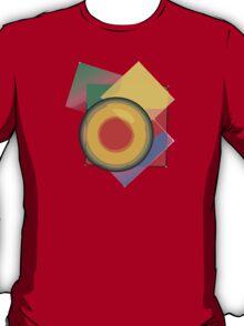 Circle Square Pattern T-Shirt