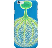 Tree,Roots and World. iPhone Case/Skin