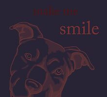 Pit Bulls make me smile (dark backgrounds) by WildCatArtist