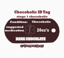 Chocoholic Medical ID Tag by richardredhawk