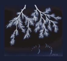 Leafy Branches Sandy Toes T-Shirt