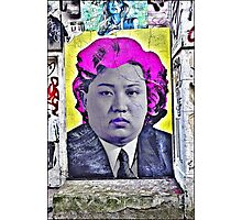Our leader by Andy Warhol! Photographic Print