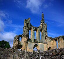 Byland Abbey -2 by Trevor Kersley