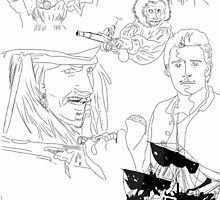 Pirates of the Caribbean by NataPendragon