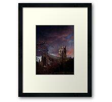 Worcester Cathedral Framed Print