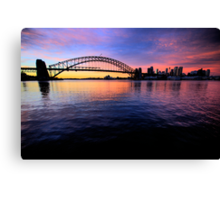 Sydney Uncut - Moods Of A City - The HDR Series Canvas Print