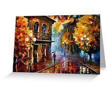 Fall Rain 2 — Buy Now Link - www.etsy.com/listing/219987095 Greeting Card