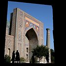 Framed Samarkand by Alastair Humphreys