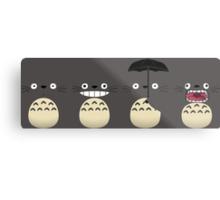 Totoro's Faces Metal Print
