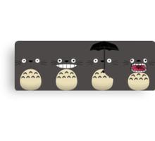 Totoro's Faces Canvas Print