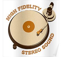 'High Fidelity' Poster