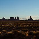 Morning Light at Monument Valley by Ken McElroy