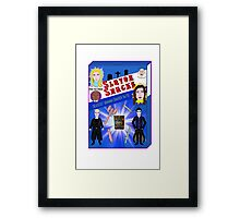 Slayer Snacks! Framed Print